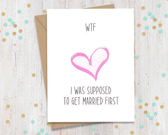 Mature Getting Married Wedding Card Card For Bride Card For Groom Wedding