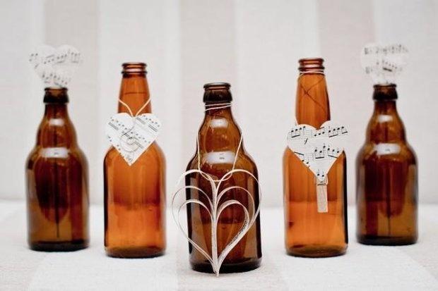 DIY bottle decoration