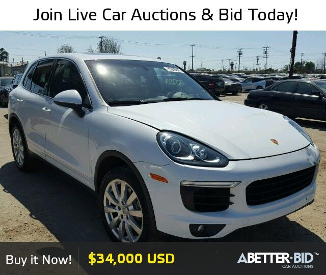 Nice Porsche: Salvage  2015 PORSCHE CAYENNE for Sale - WP1AB2A25FLA56192 - abetter.bid/......  Salvage Exotic and Luxury Cars for Sale Check more at http://24car.top/2017/2017/04/23/porsche-salvage-2015-porsche-cayenne-for-sale-wp1ab2a25fla56192-abetter-bid-salvage-exotic-and-luxury-cars-for-sale/