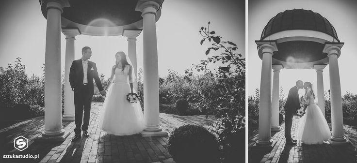 Sesja ślubna w ogrodach Kapias w Goczałkowicach