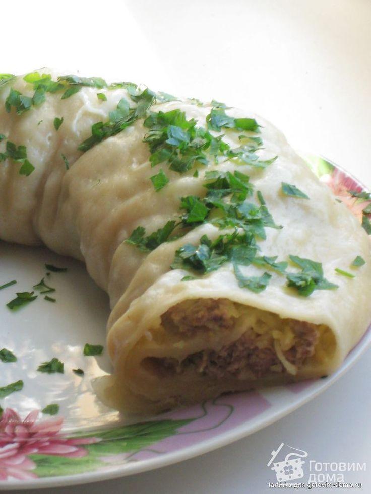 Ханум (паровой рулет с картофелем) от tartinka