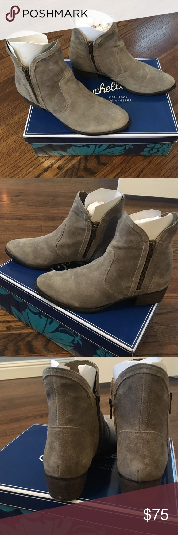 Seychelles Boots Full Speed Seychelles booties. Taupe. Size 8. Hardly worn due to size. Perfect condition with no marks. Seychelles Shoes Ankle Boots & Booties