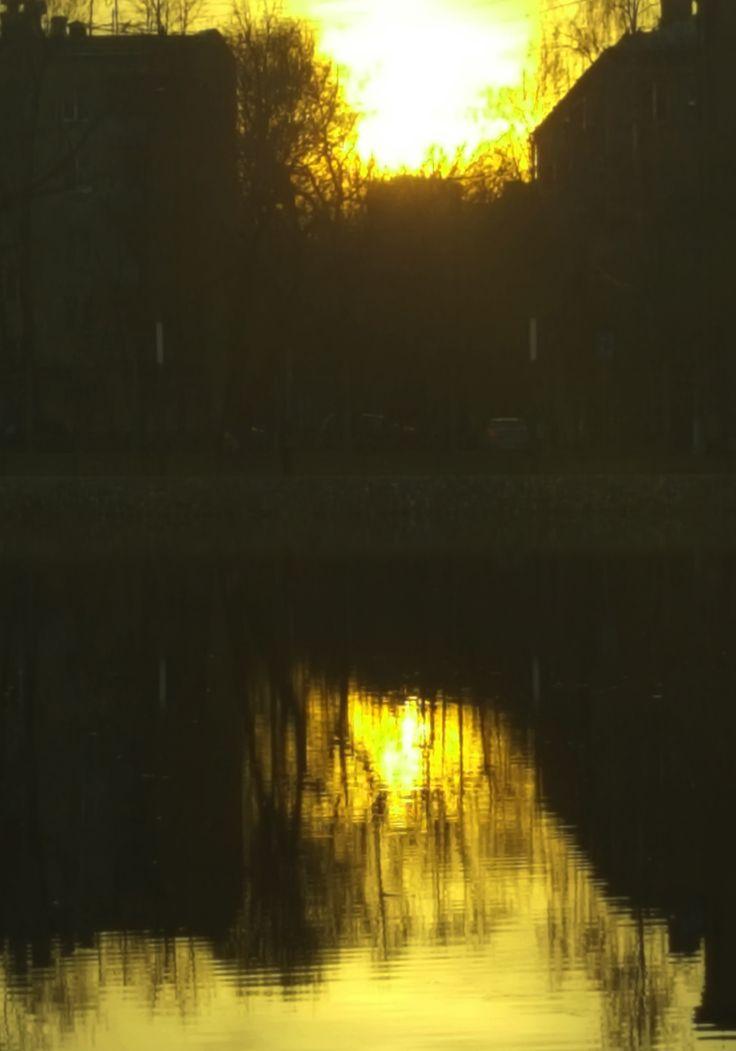 фото преломление отражения в воде
