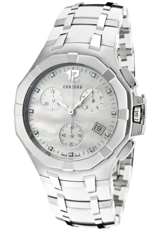 Price:$1745.63 #watches Concord 0311514, This classic Concord timepiece has a twist of fashion. Its versatility allows this timepiece to display its elegance whatever the occasion.