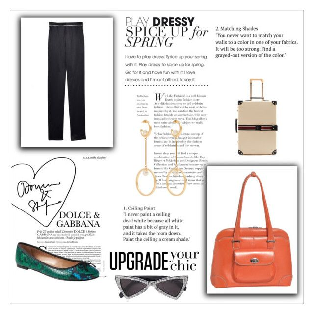 """""""How to Style an Airport Travel Outfit"""" by cheapchicceleb ❤ liked on Polyvore featuring Fleur du Mal, McKleinUSA, Banana Republic, Globe-Trotter and Chloé"""