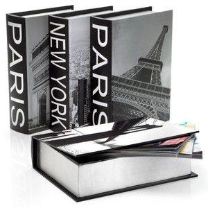 New York & Paris Destination Boxes - Set of 4