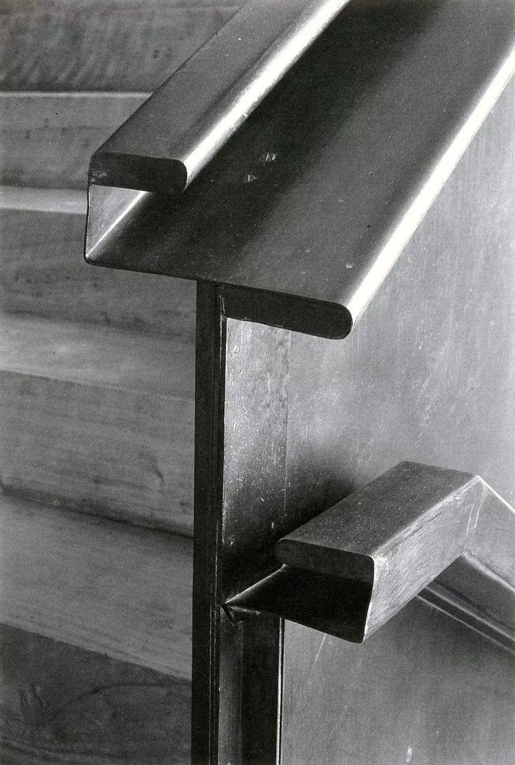 A handrail by Alejandro de la Sota.                                                                                                                                                                                 More