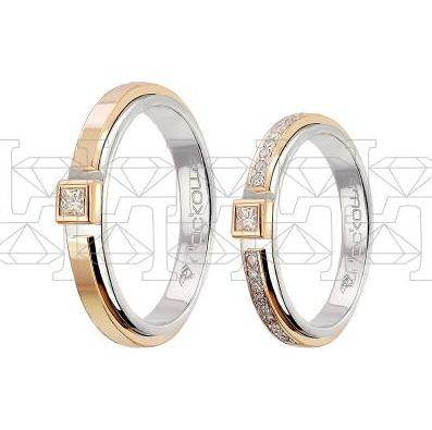 Парные обручальные кольца | ЮБ Роскошь