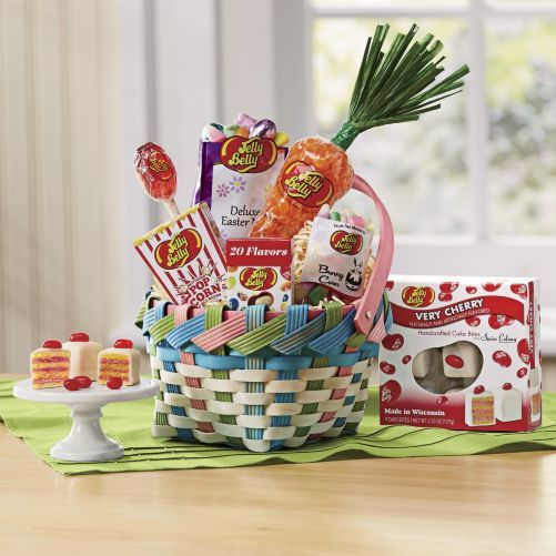 12 best the sweetest gifts for easter images on pinterest jelly belly easter basket from the swiss colony a basketful of flavors that could only negle Gallery