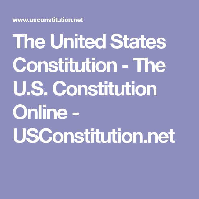 an introduction to the history of the constitution in the united states The us constitution the constitution of the united states is a document that outlines the basis of the federal (national) government of the usa it was written in 1787 at a.