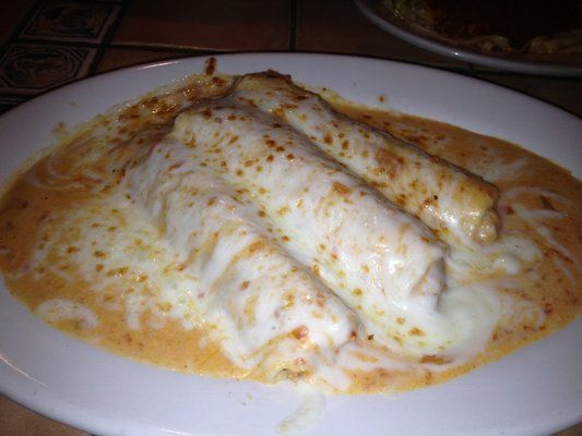 Romano's Macaroni Grill Copycat Recipes: Chicken Cannelloni