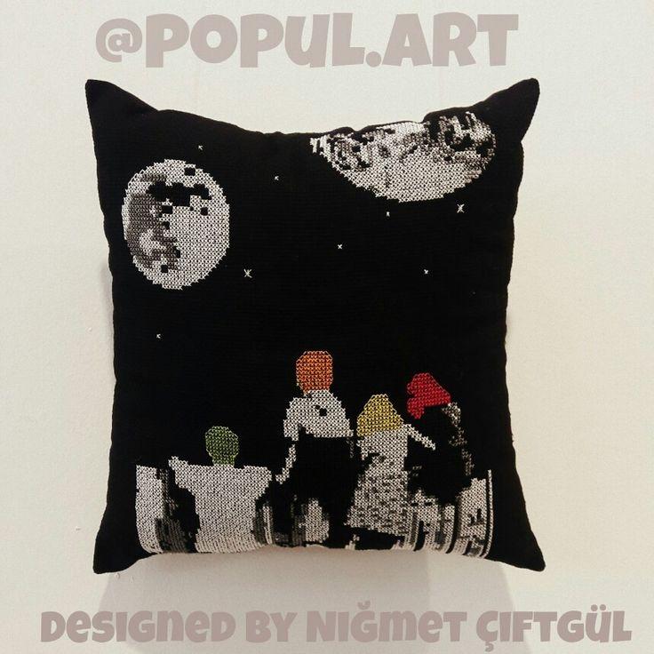 Art Artist Artwork Kanaviçe Sanat Tasarım Designed Populer populart Facebook: @Popull.art instagram: @popul.art