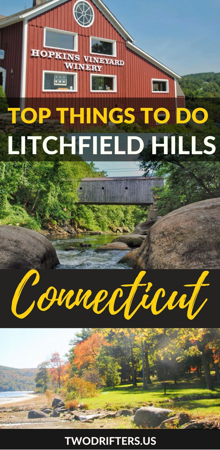 Connecticut's hidden gem is the Litchfield Hills. From antiquing to berry-picking, fly-fishing to hiking, this is a gorgeous New England region to explore.