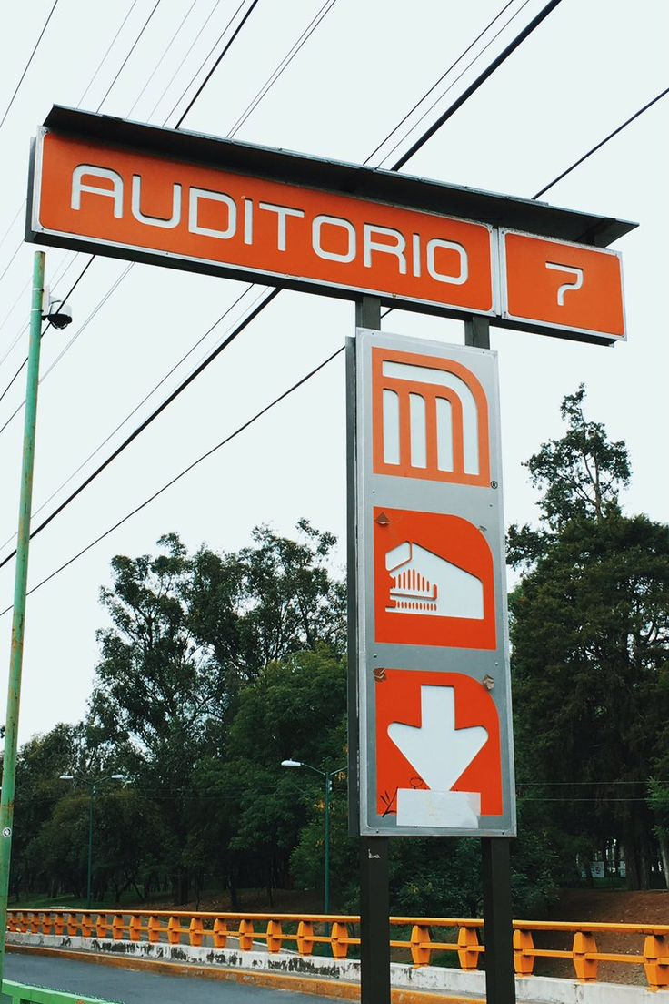 Mexico City metro signage by @LanceWymanNews  #signs  via @andybutlernet