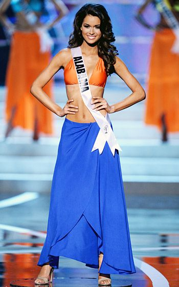 2013 Miss USA Pageant Miss Alabama: Mary Margaret McCord, First Runner Up