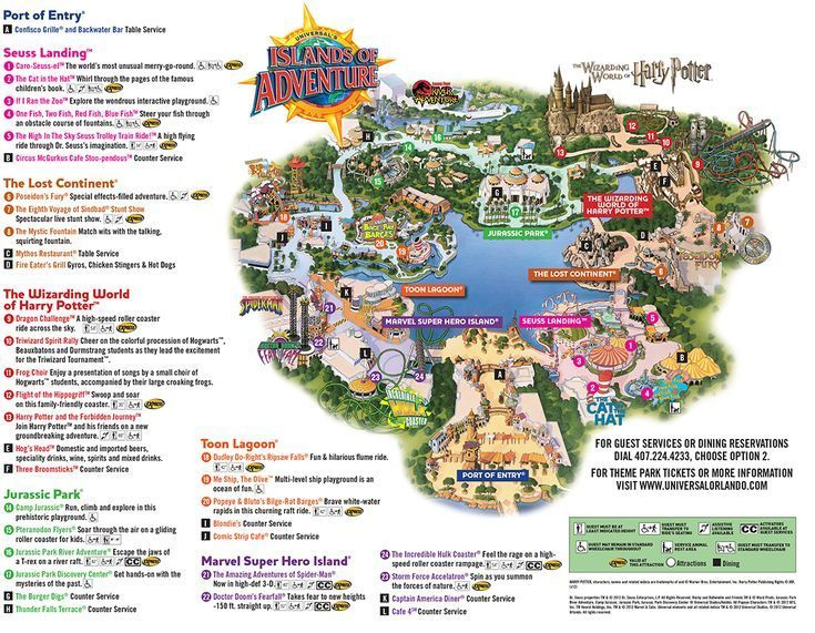 Universal Islands Of Adventure Orlando Fl Universal Studios