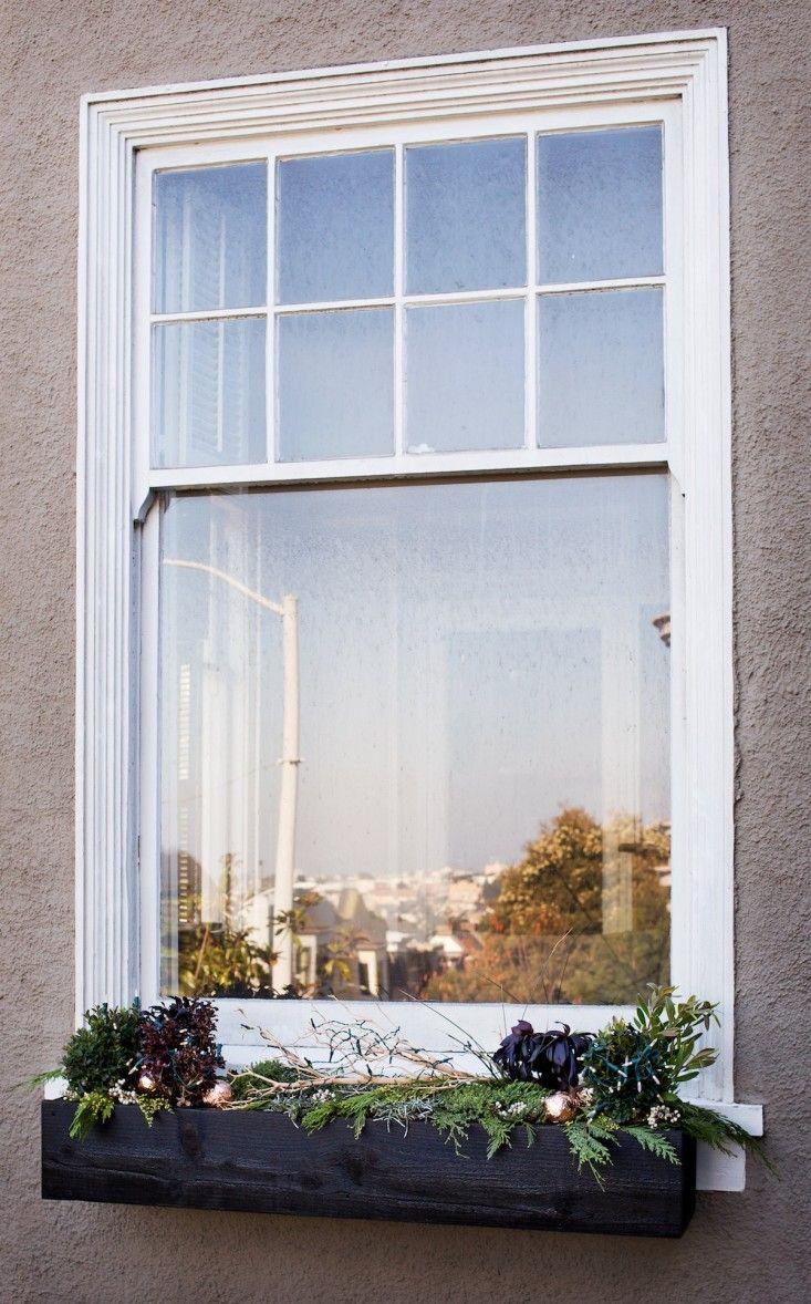DIYChristmas Window Boxes