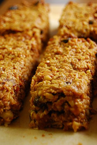 Thick, Chewy Granola Bars | Yum | Pinterest