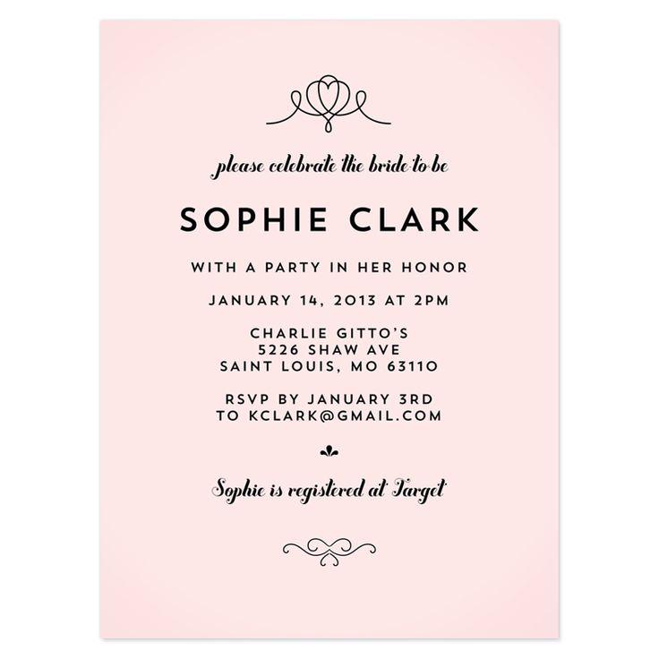 Bridal Shower Invitation Wording References