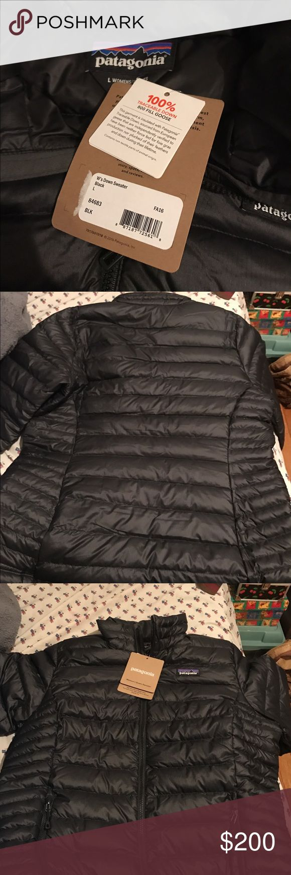 BRAND NEW  Patagonia Women's Down Sweater Jacke I ordered two on accident :) I love this jacket so much it's very warm and light. Open to other prices ! Patagonia Jackets & Coats Puffers