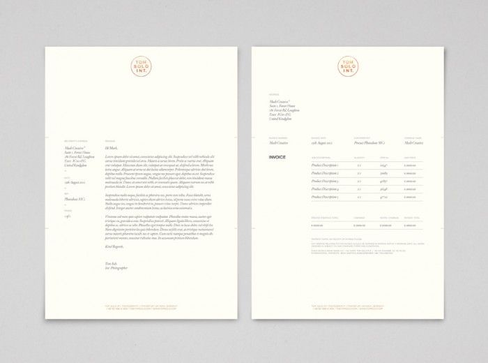 38 best invoices images on Pinterest Blog, Design packaging and - design invoices