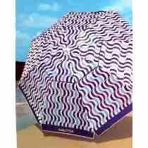 Guarda-sol Sombreiro Dobrável De Praia Náutica 2,1m C Fps 35