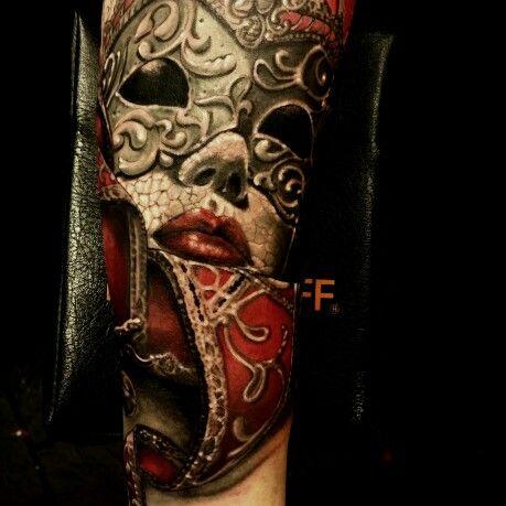 ber ideen zu venetian mask tattoo auf pinterest maskeradentattoo drama masken und. Black Bedroom Furniture Sets. Home Design Ideas