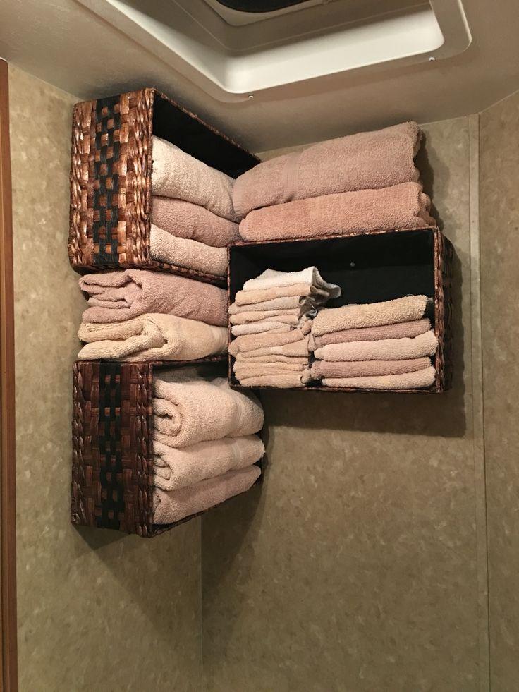 Bathroom Camper Storage!                                                                                                                                                      More