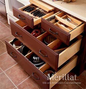 Base Cooking Center - Masterpiece Accessories - Merillat