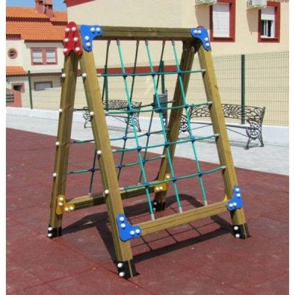 Venta parque infantil de madera patio cole pinterest parque infantil parque y ventas - Parque infantil de madera ...