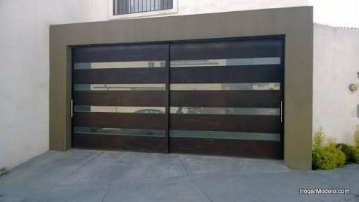 M s de 25 ideas incre bles sobre barandales de herreria - Puertas para cocheras ...