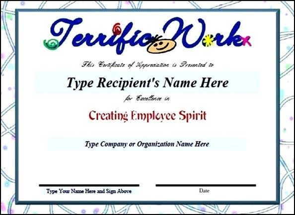 25+ melhores ideias de Sample certificate of recognition no - sample certificate of appreciation