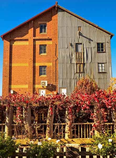 Junee - Chocolate and Licorice Factory. wonder which half is which? (photo Chris Stimson)