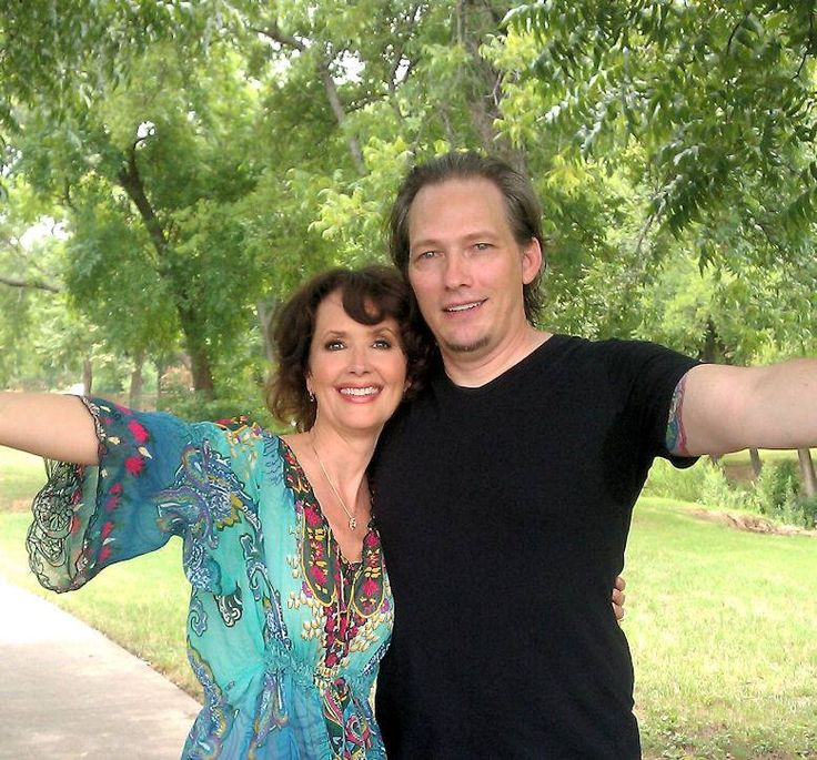 Me (Darren Burrows) and my special friend- Janine Turner who played  Maggie O'Connell in the 1990 - 1995 television series Northern Exposure