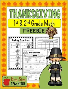 Engage your first and second graders in mathematical thinking at the beginning of math class with this Thanksgiving Math Warm-Ups FREEBIE!What are They?This Thanksgiving Math Freebie includes 10 pages of Addition, Subtraction, Graphing, and Fraction Worksheets.