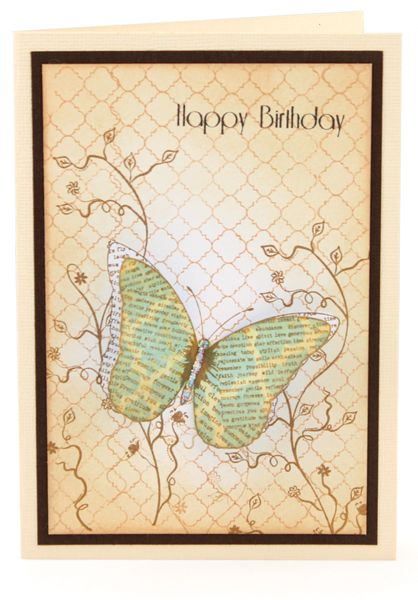 MT568 Inspirational Butterfly Card