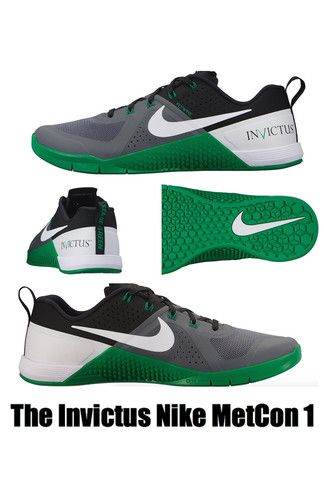 Invictus Nike MetCon 1 Shoes -Perfect for any CrossFit or Gym Workout or  going for