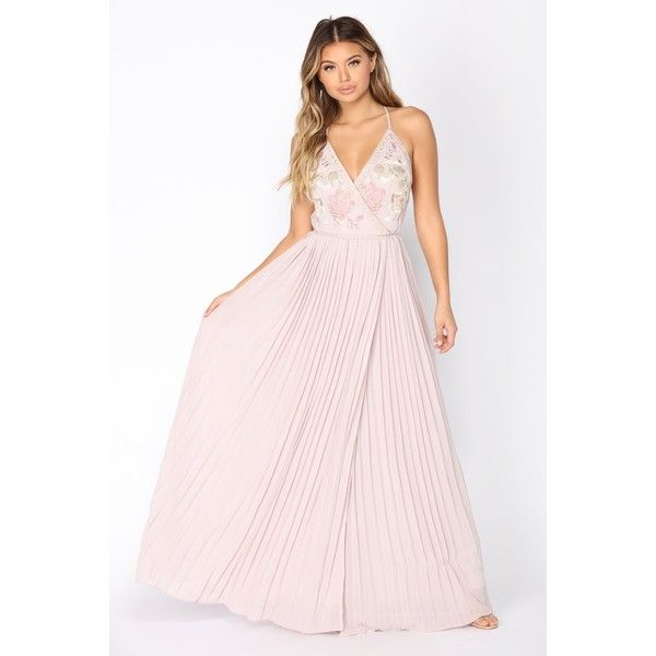 Dresses ❤ liked on Polyvore featuring dresses, denim maxi dress, short dresses, denim dresses, pink cocktail dress and maxi cocktail dresses