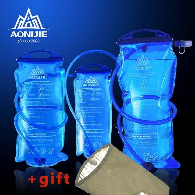3L TPU Water Bladder Bag Hydration Pack for Outdoor Camping Hiking Cycling
