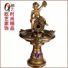 Anjo jardim fonte de água em boutique europeu tecnologia de água água feng shui ornamentos bonsai(China (Mainland))