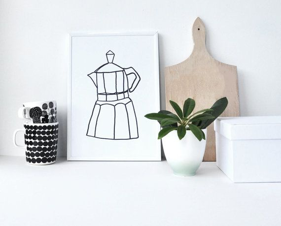 Hey, I found this really awesome Etsy listing at https://www.etsy.com/uk/listing/398243477/kitchen-print-coffee-maker-kitchen-art