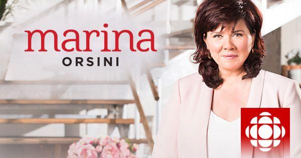 Découvrez le site de l'émission Marina Orsini