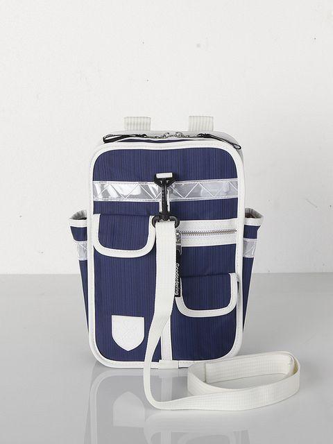 Goodordering – Navy Blue Mini Kids Backpack – Blue