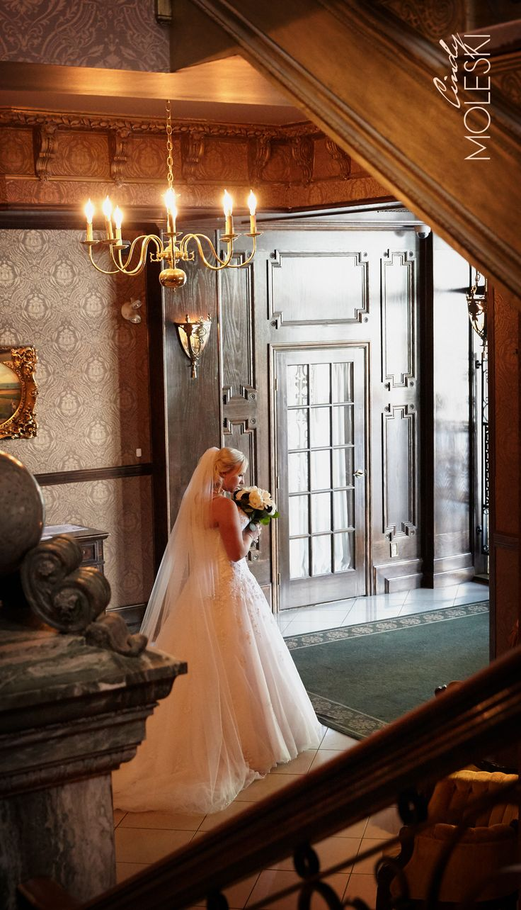 A reflective moment with a beautiful bride.