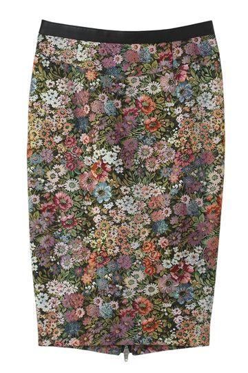 レキサミ【予約販売】ゴブランジャガードタイトスカート