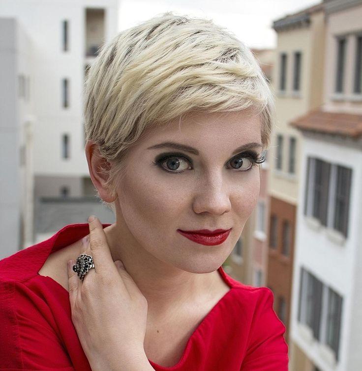 Blonde Kurzhaarfrisuren 2019 - Wählen Sie die perfekte