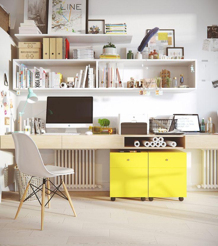 50 Splendid Scandinavian Home Office And Workspace Designs: 1000+ Ideas About Scandinavian Office On Pinterest