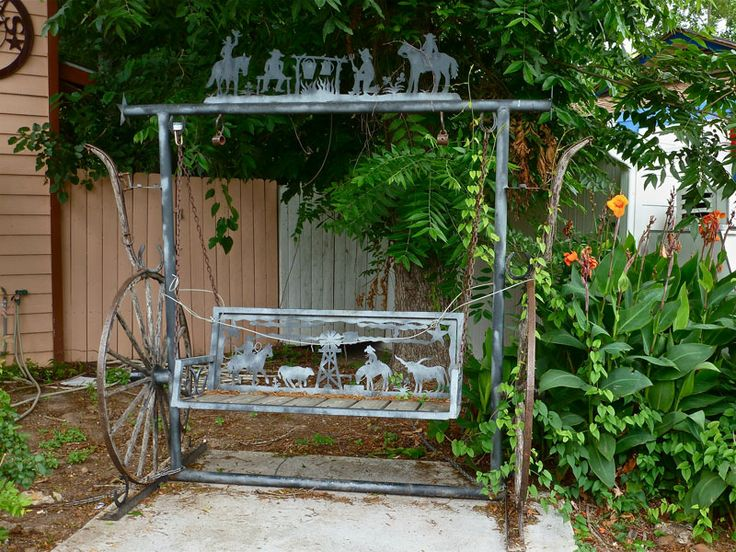 Amish metal porch swing | Swings | Pinterest | Metals ...