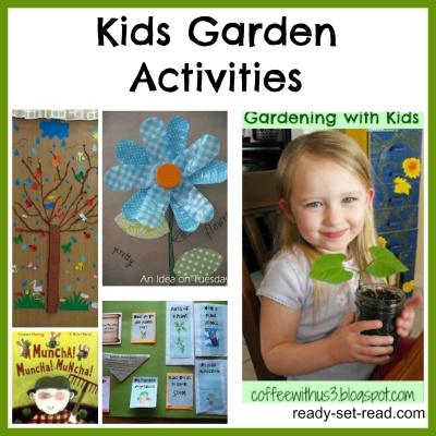 Kids Garden Activities and crafts