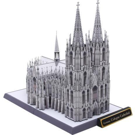Canon Papercraft - Cologne Cathedral (Kölner Dom) Free Building Paper Model Download